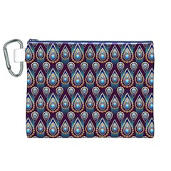 Seamless Pattern Pattern Canvas Cosmetic Bag (xl)