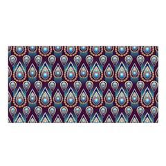 Seamless Pattern Pattern Satin Shawl