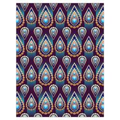 Seamless Pattern Pattern Drawstring Bag (large)