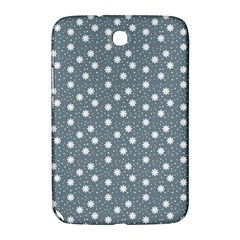 Floral Dots Blue Samsung Galaxy Note 8 0 N5100 Hardshell Case