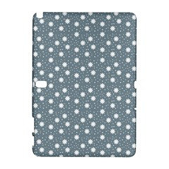 Floral Dots Blue Galaxy Note 1