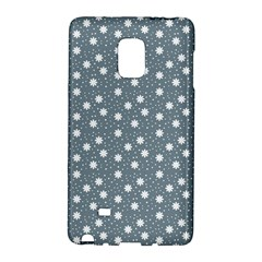 Floral Dots Blue Galaxy Note Edge