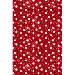 Floral Dots Red 5 5  X 8 5  Notebooks
