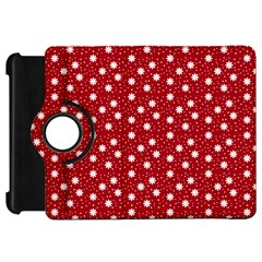 Floral Dots Red Kindle Fire Hd 7