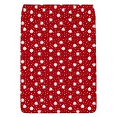 Floral Dots Red Flap Covers (s)