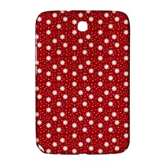 Floral Dots Red Samsung Galaxy Note 8 0 N5100 Hardshell Case