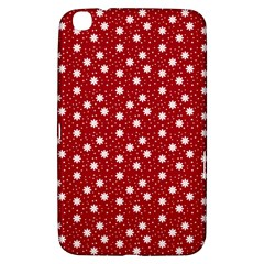 Floral Dots Red Samsung Galaxy Tab 3 (8 ) T3100 Hardshell Case