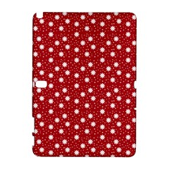 Floral Dots Red Galaxy Note 1