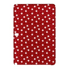 Floral Dots Red Samsung Galaxy Tab Pro 12 2 Hardshell Case