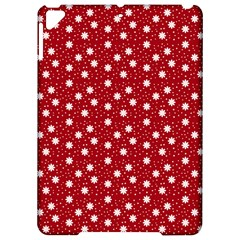 Floral Dots Red Apple Ipad Pro 9 7   Hardshell Case