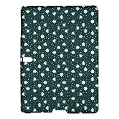 Floral Dots Teal Samsung Galaxy Tab S (10 5 ) Hardshell Case