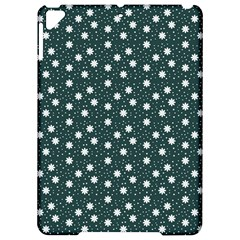Floral Dots Teal Apple Ipad Pro 9 7   Hardshell Case