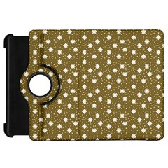 Floral Dots Brown Kindle Fire Hd 7