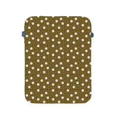 Floral Dots Brown Apple Ipad 2/3/4 Protective Soft Cases