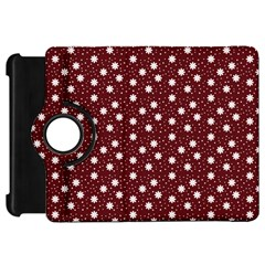 Floral Dots Maroon Kindle Fire Hd 7