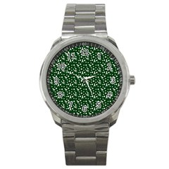 Dinosaurs Green Sport Metal Watch