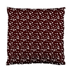Dinosaurs Red Standard Cushion Case (two Sides)