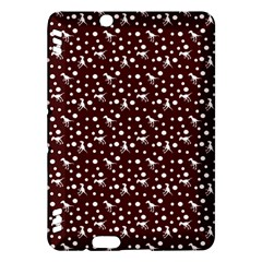 Dinosaurs Red Kindle Fire Hdx Hardshell Case