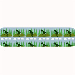 Dino In The Mountains Blue Large Bar Mats