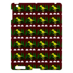 Dino In The Mountains Red Apple Ipad 3/4 Hardshell Case