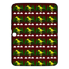 Dino In The Mountains Red Samsung Galaxy Tab 3 (10 1 ) P5200 Hardshell Case