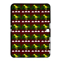 Dino In The Mountains Red Samsung Galaxy Tab 4 (10 1 ) Hardshell Case