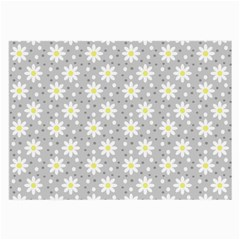 Daisy Dots Grey Large Glasses Cloth (2 Side)
