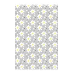 Daisy Dots Grey Shower Curtain 48  X 72  (small)