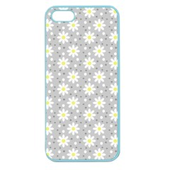 Daisy Dots Grey Apple Seamless Iphone 5 Case (color)