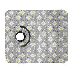 Daisy Dots Grey Galaxy S3 (flip/folio)