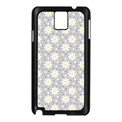 Daisy Dots Grey Samsung Galaxy Note 3 N9005 Case (black)