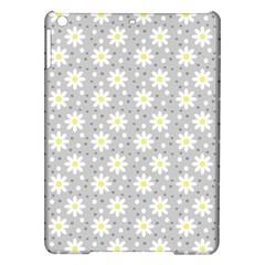Daisy Dots Grey Ipad Air Hardshell Cases