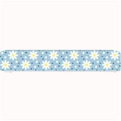 Daisy Dots Light Blue Small Bar Mats