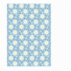 Daisy Dots Light Blue Large Garden Flag (two Sides)