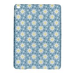 Daisy Dots Light Blue Ipad Air 2 Hardshell Cases