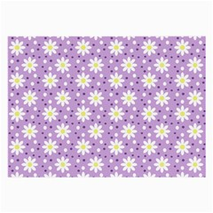 Daisy Dots Lilac Large Glasses Cloth (2 Side)