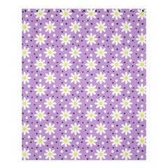Daisy Dots Lilac Shower Curtain 60  X 72  (medium)
