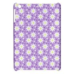 Daisy Dots Lilac Apple Ipad Mini Hardshell Case