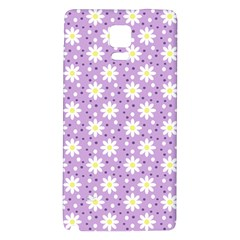 Daisy Dots Lilac Galaxy Note 4 Back Case