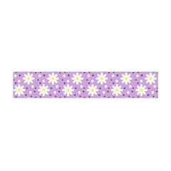 Daisy Dots Lilac Flano Scarf (mini)