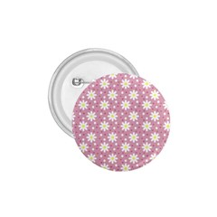 Daisy Dots Pink 1 75  Buttons