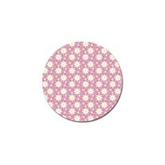 Daisy Dots Pink Golf Ball Marker (10 Pack)