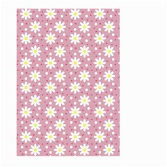 Daisy Dots Pink Large Garden Flag (two Sides)