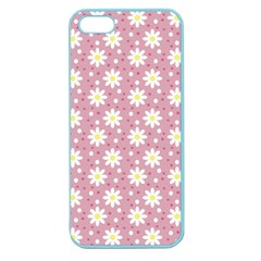 Daisy Dots Pink Apple Seamless Iphone 5 Case (color)