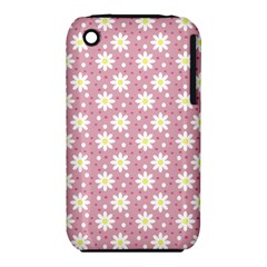 Daisy Dots Pink Iphone 3s/3gs