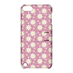 Daisy Dots Pink Apple Ipod Touch 5 Hardshell Case With Stand
