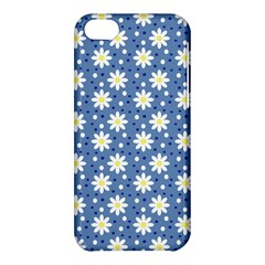 Daisy Dots Blue Apple Iphone 5c Hardshell Case