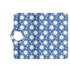 Daisy Dots Blue Kindle Fire Hdx 8 9  Flip 360 Case