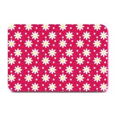Daisy Dots Light Red Plate Mats
