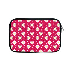 Daisy Dots Light Red Apple Macbook Pro 13  Zipper Case